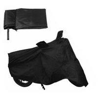 Bike Body Cover For Bajaj Pulser 200 Cc ( Black)