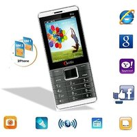 Chilli-B02 Dual Sim GSM With Facebook Multimedia Camera Mobile Phone