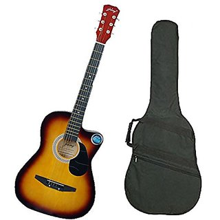 Jixing Acoustic Guitar with Bag Sunburst available at ShopClues for Rs.2850