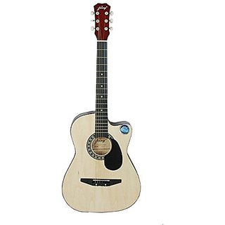 Jixing acoustic guitar DD380C NATURAL available at ShopClues for Rs.2999