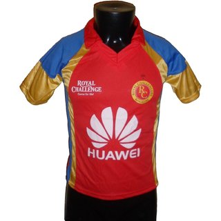 IPL Jersey Cricket T20 India Jersey T Shirt Royal Challengers Bangalore RCB