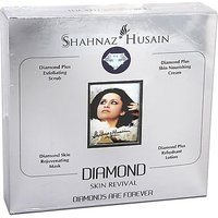 Shahnaz Husain Diamond Facial Kit for Whitening & Fairness - 40 gm