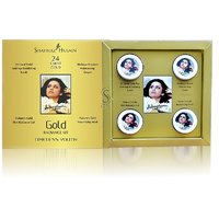 Shahnaz Husain Gold Facial Kit for Whitening & Fairness For All Skin Types - 40g (Pack of 1)