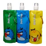 Angry Birds Foldable Reusable Water Bottle Set Of 3 Bottles
