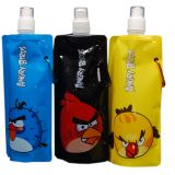 Angry Birds Foldable Reusable Water Bottle (Set Of 3 Bottles)