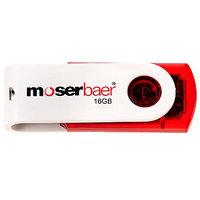 Moserbaer Swivel 16 GB USB 2.0 Pen Drive (Multicolor)