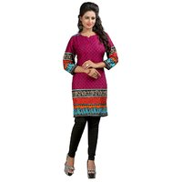 Sukuma Exclusive Red Colored Printed  Kurti KRT6062-Prpl