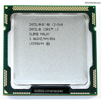 Intel Core i3 Processor i3-540 3.06GHz 4MB LGA1156 CPU