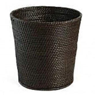 Barak Bamboo  Cane Crafts- Handmade cane woven wastebin
