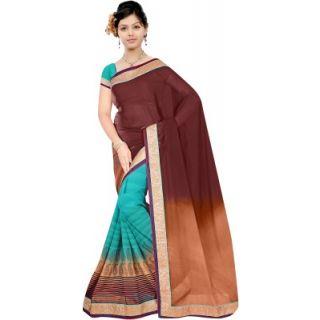 Muta Fashions Dazzling Bhagalpuri Saree