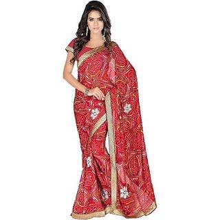 Muta Fashions Charming Bhagalpuri Saree