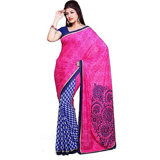 Muta Fashions Grand Bhagalpuri Saree