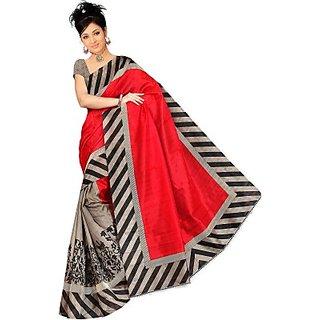 Muta Fashions Magnificent Bhagalpuri Saree