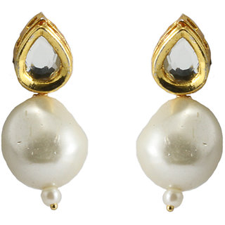 Pearl Drop Earings By AARA