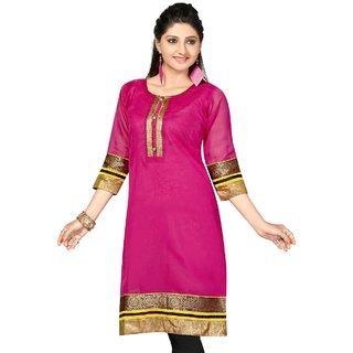 Cotten and silk kurtis for women