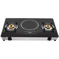 2 Brunner Gas Stove With Induction Cook Top