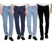 DENIM SLIM FIT JEAN FOR MEN-PACK OF 4PCS