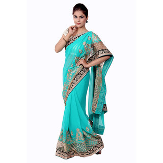 Ellegent Exports Georgette Wedding Saree