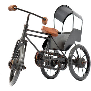 COLLECTIBLES BLACK COLOR IRON Rickshaw