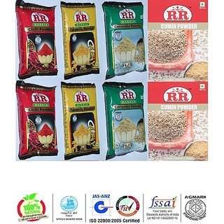 RR MASALA POWDER COMBO OF PACK 8