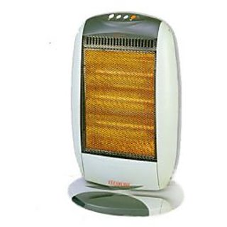 Clearline YQ12H 1200W Oscillating Halogen Room Heater