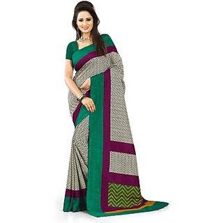 Animal Print, Printed Bollywood Art Silk Sari