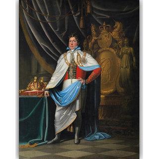Vitalwalls Portrait Painting Canvas Art Print.