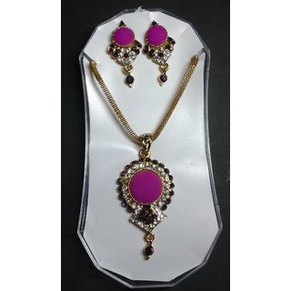 Partywear Pendant Set From Engage For Valentine Gift