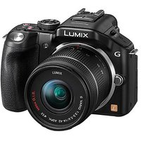 Panasonic Lumix DMC-G5K 16MP Mirrorless Camera with 14-42mm Kit Lens (Black)