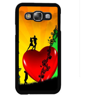 Instyler Digital Printed Back Cover For Samsung Galaxy E7 SGE7DS-10108