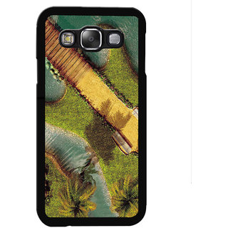 Instyler Digital Printed Back Cover For Samsung Galaxy E5 SGE5DS-10072