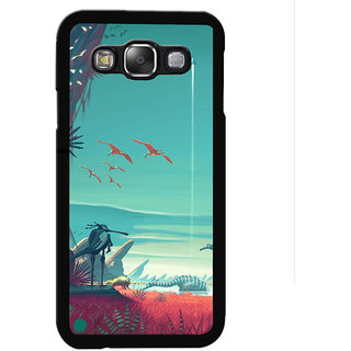Instyler Digital Printed Back Cover For Samsung Galaxy E5 SGE5DS-10087