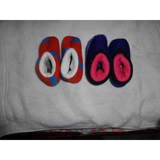 Woollen Shoes for Kids (2 Pairs) (KS1804)
