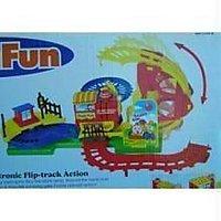Stunt Train For Kids Bridge/arround The Bend