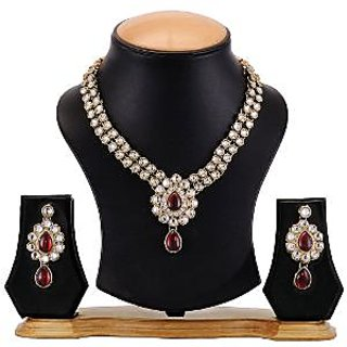 Kundan Necklace Set By The Pari - EY-09