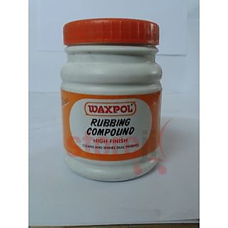 Waxpol Rubbing Compound Polish and Shiner