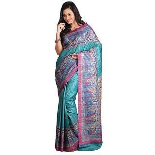 Silk Only Gadd Classical Madhubani Silk Saree