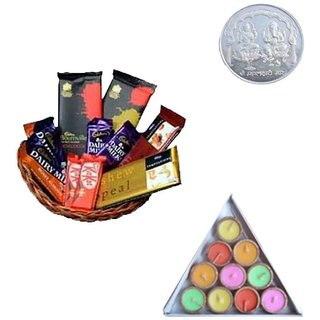 Delicate Chocolate Basket  Diyas Coin.