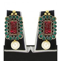 Zaveri Pearls Gorgeous Earring-ZPFK4784