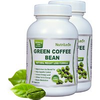 Nutrileon Green Coffee Bean Pure Extract 800mg 60 Capsules (Pack Of 2)