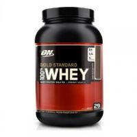 Optimum Nutrition 100 Whey Gold Standard  2 Lbs (Double Rich Chocolate)