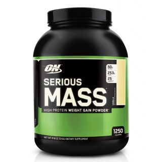 Optimum Nutrition Serious Mass 6 Lbs Vanilla