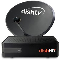 Dish TV HD+ Recorder Connection-Telugu (1 month Platinum Sports Full-On HD Pack Free)