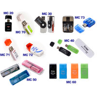 Enter Card Readers Combo (One All In 1 Card Reader & One Micro SD Card Reader)