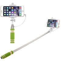 Trendmakerz Ultra Mini Selfie Stick for iPhone with Lenses