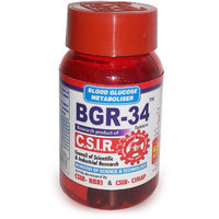 Combination of Natural  Herbal Medicine BGR-34 for Diabetes