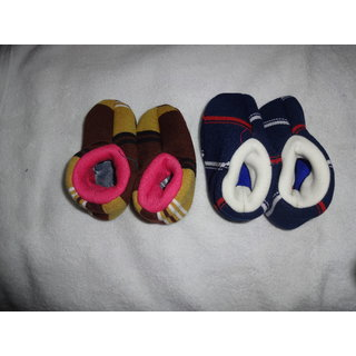 Woollen Baby Booties for Baby boys  girls (Pair of Two) (KS1808)