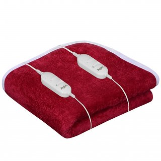 Warmland Red Electric Double Bed Warmer (AEB11)