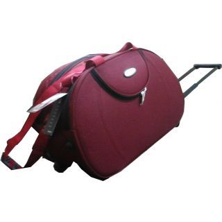 Top Gear Duffle Bag With Trolley For Rs. 344 Only