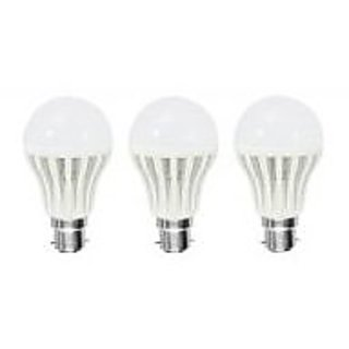 BEST 3 LED Bulbs Combo of 12W, 15W, 18W (Set of 3 Bulbs)